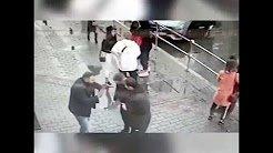 Футболисты Кокорин и Мамаев жестоко избивают водителя ведущей Первого канала Ушаковой