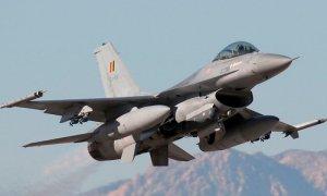 В Бельгии на авиабазе взорвался истребитель F-16