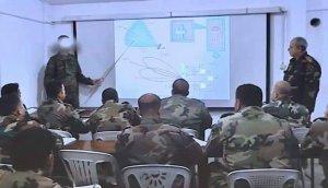 Видео: офицеры сирийских сил ПВО проходят обучение работе на комплексах С-300