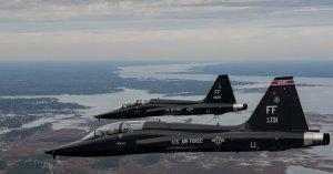 Сверхзвуковой истребитель ВВС США разбился в Техасе