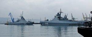"""Новейший патрульный корабль """"Дмитрий Рогачев"""" провел первые артиллерийские стрельбы в Черном море"""