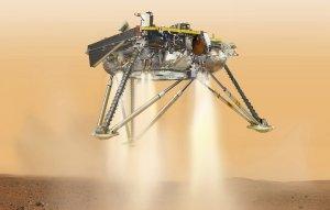 Аппарат Mars InSight совершил посадку на Марсе в районе нагорья Элизий