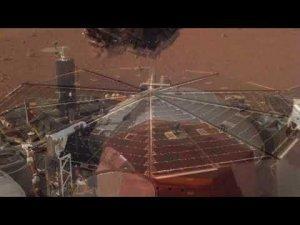 Аппарат NASA записал похожие на ветер звуки на Марсе