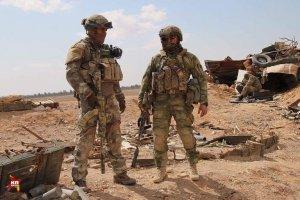 Россия создала свою военную базу вблизи американской базы Ат-Танф