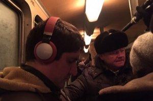 Мэр Саратова пытается доехать до работы. Теперь на трамвае.