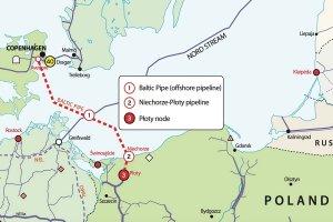 """Варшаве придется согласовывать с """"Газпромом"""" прокладку альтернативного России Baltic Pipe"""