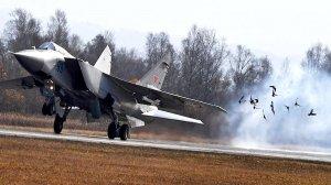 """Северная Миграция: в Арктике будет создан истребительный авиаполк (МиГ-31 возьмет на вооружение гиперзвуковые ракеты """"Кинжал"""")"""