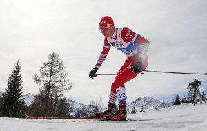Российский лыжник Александр Большунов завоевал серебро на дистанции 50 км на чемпионате мира