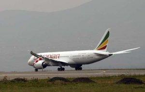 В Эфиопии разбился самолет Ethiopian Airlines На борту находились 149 пассажиров и восемь членов экипажа