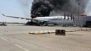 Военные нацармии Ливии захватили аэропорт в пригороде Триполи