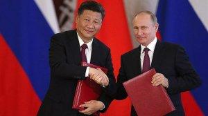 """""""Неприкрытый выпад в сторону США"""": CNN о заявлении Путина на встрече с Си Цзиньпином"""