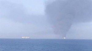 СМИ сообщили о нападении на два танкера в Оманском заливе
