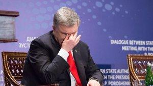 Порошенко испугался, что Киев не предупредили о встрече Путина с Трампом.
