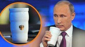 Термокружка Путина стала хитом продаж в Китае