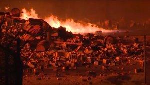 В американском Кентукки горят 5 миллионов литров бурбона