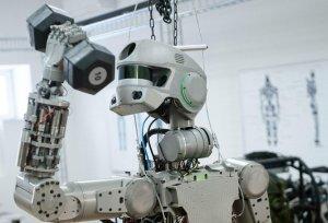 Антропоморфный робот Skybot F-850 доставлен на Байконур для подготовки к полету на МКС