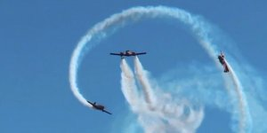 """Новая фигура группового высшего пилотажа """"Пропеллер"""": первые кадры репетиции"""
