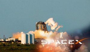 """SpaceX"" успешно испытала новый образец межпланетного корабля аппарат ""Starhopper"""
