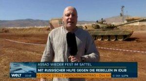 Корреспондент Welt с полигона под Дамаском: послание России миру - сирийская армия вновь обрела боевую мощь.