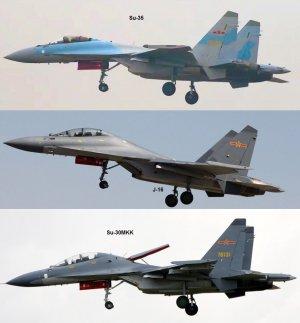 Sina (Китай): J-16 появился на параде в честь дня основания КНР. Чжан Чжаочжун: его авионика на целое поколение лучше, чем у Су-30.