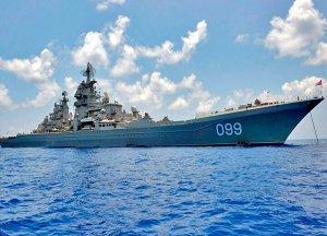 Как китайский сторожевой корабль Петра Великого встречал