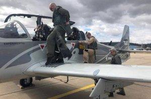 Украинские пилоты протестировали лёгкие штурмовики EMB-314 Super Tucano
