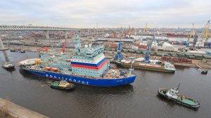 """Самый мощный ледокол в мире """"Арктика"""" завершил этап ходовых испытаний"""
