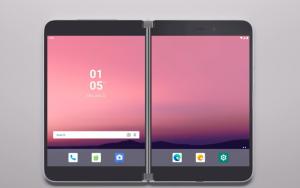 На видео показали работу Android на смартфонах с двумя экранами