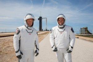 Попытка номер два уже началась. NASA's SpaceX Demo-2 Mission Launch