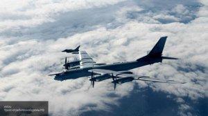 Ракетоносцы Ту-95МС провели патрулирование северо-восточных границ России