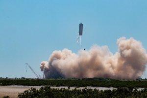 Прототип Starship SN6 совершил испытательный полет