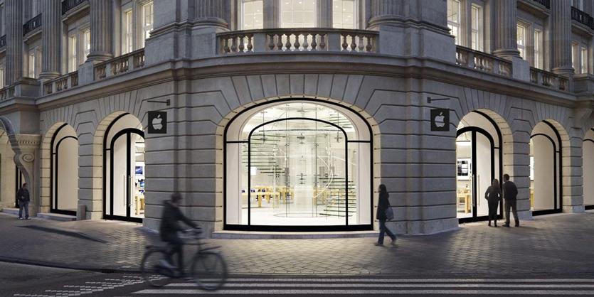 В Apple Store Амстердама взорвался iPad, есть пострадавшие