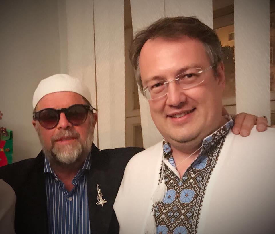 [Мразь и ничтожество] Гребенщиков в Киеве подружился С Геращенко