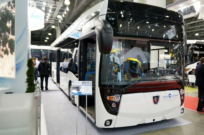 Фотографии нового городского автобуса от КАМАЗа