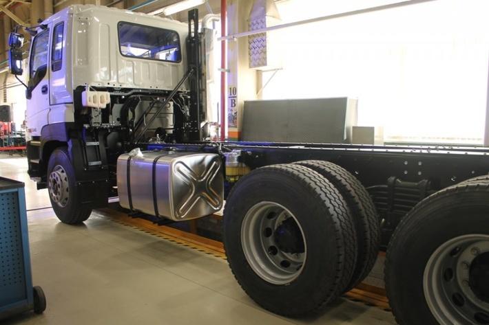 ISUZU запустил в Ульяновске производство тяжелых грузовиков