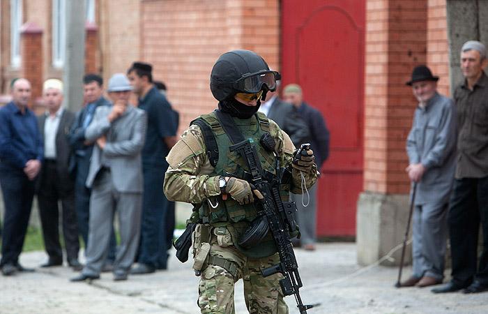 Двое полицейских погибли при обстреле в Ингушетии