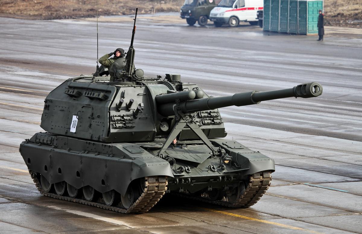 """США впечатлило появление в российской армии новых """"больших пушек"""""""