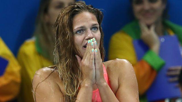 Юлия Ефимова завоевала золото ЧМ в плавании на 200 м брассом