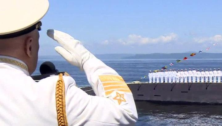 В России празднуют День ВМФ