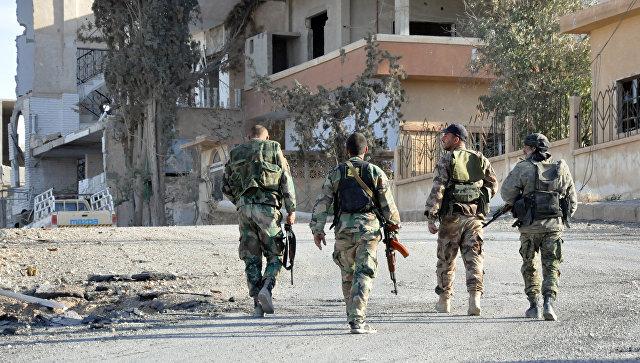 Сирийская армия разбила крупнейший оплот ИГ в Хомсе