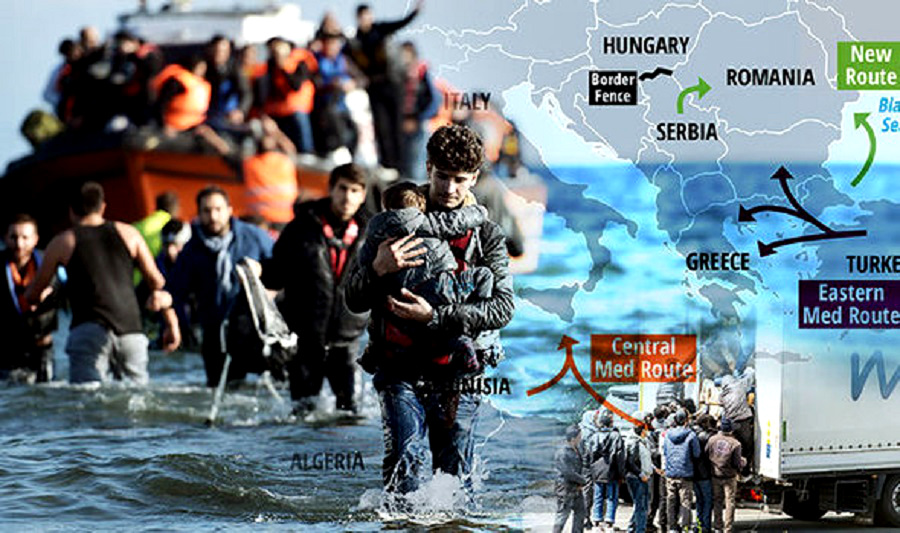 Сирийские мигранты штурмуют Черное море: на горизонте - Украина