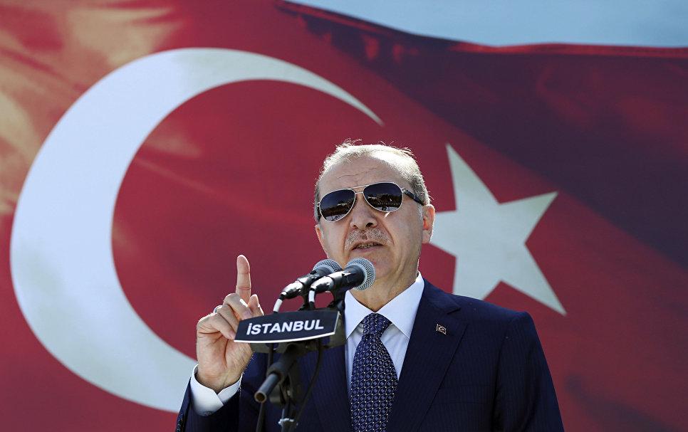 США лгут всему миру, заявил Эрдоган