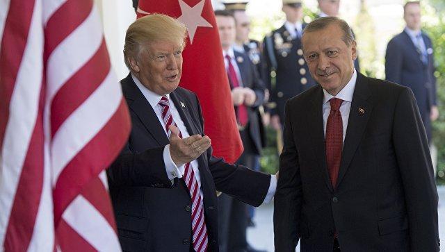Эрдоган заявил, что угроза для Турции в Сирии исходит от ее стратегических партнеров