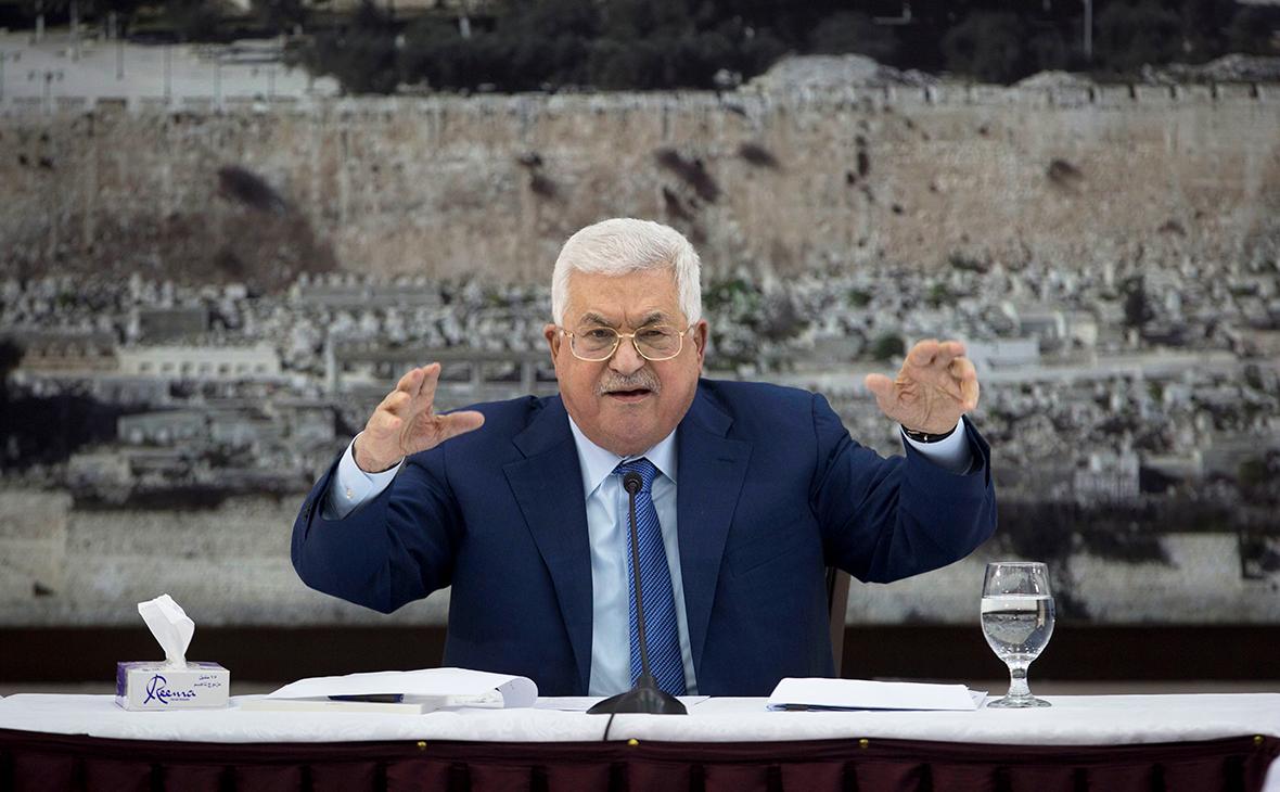 Президент Палестины выступил против вмешательства США в дела других стран