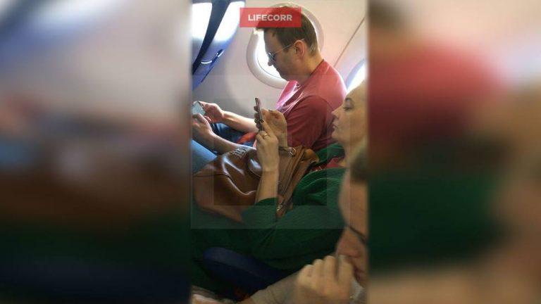 Навальный покинул Россию