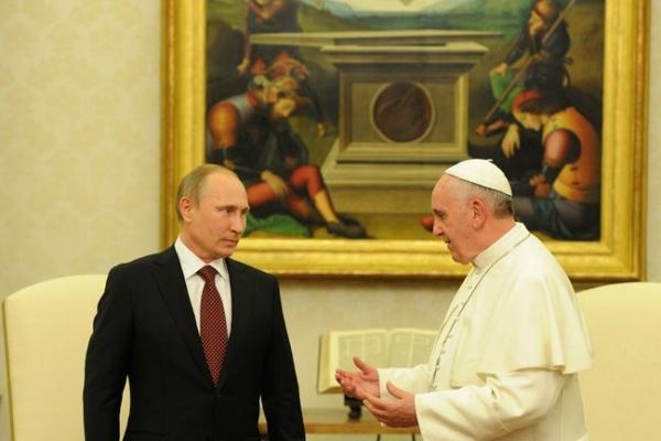 Путин встретится с папой Римским