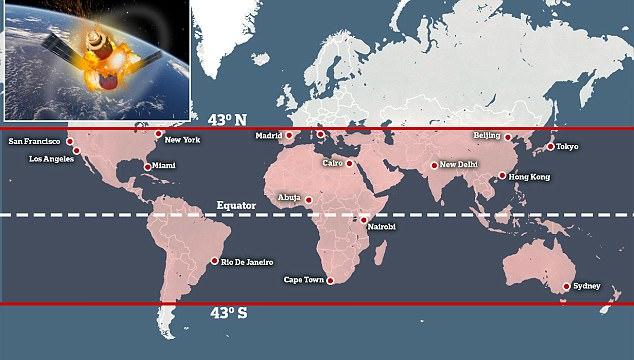 Китайская орбитальная станция Tiangong-1 в ближайшие месяцы может не управляемо сойти с орбиты