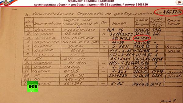 В данных Минобороны о сбившей над Украиной Boeing ракете нашли нестыковки