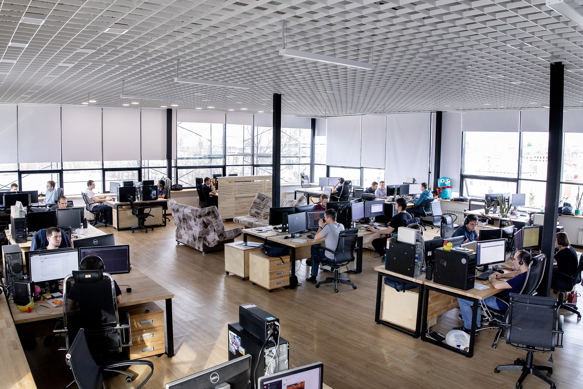 Сервис по созданию обучающих курсов, продает на 627 млн рублей в год, том числе Microsoft и IBM.