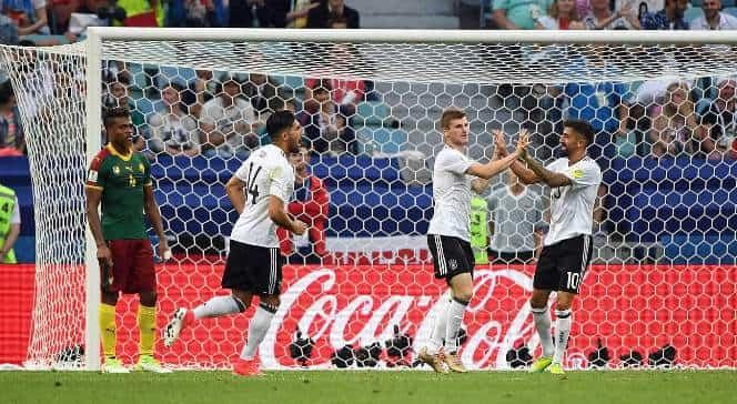 Обзор матча Германия - Камерун